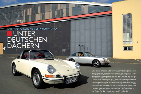 HAPPY END PORSCHE 912 SOFTWINDOW-TARGA